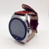 Монитор сердечного ритма Смарт Bluetooth Смарт часы телефон наручные часы с кожаным ремешком Dialer