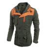 Zogga новые осенние и зимние мужские куртки, неформальная роскошь в масках