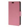 MOONCASE Мягкая кожа PU кожаный чехол бумажник флип карты отойти чехол для LG Joy H220 Розовый зубр 35903 h220