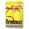 Руи Nuowa любовь (Ренова) Ларри катится блестящего желтый / белый раздел 150 * 6 объемов импорта Португалии слоя 2 ruinuo wa любовь ренова ларри боксировала из бумаги розы розового цвета 3 слоя 80 насосных светло желтый кассетные впускной португалию