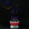 Фото - JULELYS USB-батарея LED Star Sky Night Light Вращающийся проектор Звездный ночник Детская спальня Настольный светильник Творческий подарок проектор