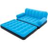 Bestway моды Красочные типа ШУ США кашемир надувной диван-кровать надувной кресло ленивый диван-кровать сиеста кровать вздремнуть кровать складные стулья 67356 синий