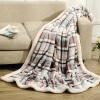 Royal Hall толстых хлопковые одеяла двойной баранина чувствовали одеяло ленивого обеда коралловые ковра суб фланели зима кашемир одеяло (серые) Британский Challenger 150 * 200 см одеяла penelope одеяло wooly 195х215 см