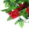 mymei гирлянду цветов поддельные завод искусственных листву украшения роуз лже - вино красное купить вазы пластик для искусственных цветов