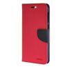 купить MOONCASE Cross pattern Leather Flip Wallet Card Slot Stand Back чехол для HTC One E9+ E9 Plus Hot pink недорого