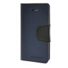 MOONCASE чехол для iPhone 5G / 5S PU Leather Flip Wallet Card Slot Stand Back Cover Blue mooncase чехол для iphone 6 plus 5 5 pu leather flip wallet card slot stand back cover blue