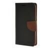 MOONCASE Cross pattern Leather Flip Wallet Card Slot Stand Back чехол для Samsung Galaxy J5 Black Brown
