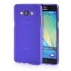 MOONCASE Transparent Soft Flexible Silicone Gel TPU Skin Shell Back ЧЕХОЛ ДЛЯ Samsung Galaxy A5 Purple mooncase s line soft flexible silicone gel tpu skin shell back чехол для htc one m9 blue