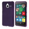 MOONCASE длительного цвета Мягкая силиконовая гель ТПУ гибкой оболочки Защитный чехол для Microsoft Lumia 640 XL Фиолетовый чехол для microsoft lumia 640 lte dual lumia 640 dual gecko силиконовая накладка прозрачно глянцевая красная