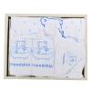Yale (Yeah's) уход за ребенком ванна купание банное полотенце подарочная коробка четыре сезона новорожденный ребенок полотенце полотенце шарф 5 комплектов сочетание медведь экологической печати и крашения беби премиум 7 злаков с черникой молочная каша с 6 месяцев 200г