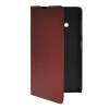 MOONCASE Slim Leather Side Flip Wallet Card Slot Pouch with Kickstand Shell Back чехол для Nokia Lumia 535 Brown mooncase slim leather side flip wallet card slot pouch with kickstand shell back чехол для huawei ascend g7 purple