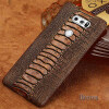 Чехол из натуральной кожи для LG V30 Case Ostrich Foot Texture для LG G3 G4 Back Cover mooncase litchi skin золото chrome hard back чехол для cover lg g4 золото