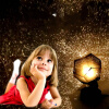 Фото - DIY детские развивающие игрушки Светодиодный ночник четыре сезона звезда проекция лампа созвездие проектор романтический подарок на день рождения проектор