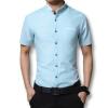 мужской рубашки дизайнер 2016 мужчин короткие рукава рубашки однородный цвет рубашки casual мужской рубашки мужчин плюс размер 5xl горячей продажи мужской рубашки дизайнер 2016 мужчин