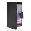 MOONCASE Classic cross pattern Leather Side Flip Wallet Card Pouch Stand Soft Shell Back чехол для LG G3 Black