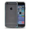 MOONCASE бампер кадр + Мягкие гибкие силиконовый гель ТПУ Оболочка задняя крышка чехол для Apple IPhone 6 (4.7 inch) Синий