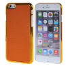 MOONCASE Litchi Skin золото Chrome Hard Back чехол для Cover Apple iPhone 6 Plus (5.5) Orange xoomz litchi texture leather coated hard pc back cover for iphone 7 plus 5 5 inch brown