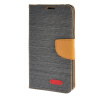 MOONCASE ЧЕХОЛ ДЛЯ Samsung Galaxy Note 5 Leather Wallet Card Flip Slot Bracket Back Cover Grey mercury goospery milano diary wallet leather mobile case for iphone 7 plus 5 5 grey