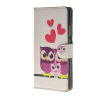 MOONCASE Owl Pattern Leather Side Flip Wallet Card Slot Stand Pouch ЧЕХОЛ ДЛЯ Huawei Ascend P8 2017 purse owl se cute wallets for children lovely coin purses for women mini bags for girls trinket small pouch wallet card zip