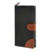 MOONCASE Xperia Z1 L39h , Leather Wallet Flip Card Holder Pouch Stand Back ЧЕХОЛ ДЛЯ Sony Xperia Z1 L39h Black msd1306xs z1