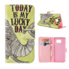 MOONCASE ЧЕХОЛДЛЯ Samsung Galaxy Note 5 Flip PU Leather Fold Wallet Card Slot Kickstand Back [Pattern series] /a06 mooncase чехол для samsung galaxy note 5 leather flip wallet style and kickstand case cover [cute pattern] design a09