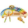 Германия Hape Детский музыкальный инструмент E0305 Десткий ксилофон для раннего образования музыкальный инструмент детский doremi синтезатор 37 клавиш с дисплеем