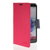 MOONCASE Classic cross pattern Leather Side Flip Wallet Card Pouch Stand Soft Shell Back чехол для LG G3 Hot pink mooncase classic cross pattern leather side flip wallet card slot pouch stand shell back чехолдля htc desire 816 hot pink