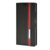 MOONCASE Премиум Слот Синтетический кожаный бумажник флип чехол Чехол карты Стенд чехол для Nokia Lumia 730 Черный