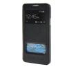 MOONCASE Samsung Galaxy A3 чехол для View Leather Flip Pouch Bracket Back Cover Sapphire аксессуар защитное стекло samsung galaxy a3 2017 solomon full cover black