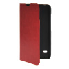 MOONCASE Slim Leather Side Flip Wallet Card Slot Pouch with Kickstand Shell Back чехол для Huawei Ascend Y550 Red синий slim robot armor kickstand ударопрочный жесткий корпус из прочной резины для vivo x9plus