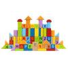 Германия HaPe Развивающие игрушки Детские кубики 80 кусков E8022 Буки европейского происхождения для раннего образования выше 1 год мудрость коня развивающие игрушки детскме кубики пазлы