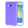 MOONCASE Transparent Soft Flexible Silicone Gel TPU Skin Shell Back ЧЕХОЛ ДЛЯ Samsung Galaxy A3 Purple аксессуар чехол samsung galaxy a3 2017 cojess tpu 0 3mm transparent