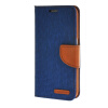 MOONCASE Galaxy S6 , Leather Flip Wallet Card Holder Pouch Stand Back ЧЕХОЛ ДЛЯ Samsung Galaxy S6 Dark blue аксессуар чехол samsung sm g920 galaxy s6 flip wallet blue ef wg920plegru