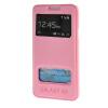 MOONCASE Samsung Galaxy A3 чехол для View Leather Flip Pouch Bracket Back Cover Pink аксессуар защитное стекло samsung galaxy a3 2017 solomon full cover black
