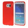 MOONCASE S - линия Мягкий силиконовый гель ТПУ защитный чехол гибкой оболочки Защитный чехол для Samsung Galaxy S6 Edge красный ультра тонкий защитный чехол для samsung galaxy s6 edge