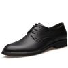 Tue Zhe (TOLZE) Британская деловая повседневная мужская обувь с остроконечными мужскими туфлями 5220 черными 42 ярдов j ai tue
