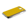 MOONCASE Luxury Chrome Plated Star Bling Back чехол для Samsung Galaxy Core Plus G3500 / Trend 3 G3502 Yellow mooncase hard chrome plated star bling back чехол для samsung galaxy a3 green