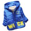 Детские Малыш Мальчик в девочке зимние теплые куртки медведь толстовка с капюшоном руно Пальто Верхняя одежда Вниз зимние куртки цены в москве