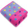 Sanli хлопок жаккард цвет волна точка полотенце мягкий абсорбирующий полотенце для мытья лица 34 × 73 см розовый фиолетовый полотенце для кухни арти м петух волна