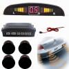 Yixiukeji  авто - индикатор, машина вспять подкрепление радар с 4 парковочные датчики датчики