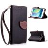 MOONCASE [оставляет магнитные кнопки] премиум - пу - кожа Flip бумажник, слот для карт памяти и вернуть дело для покрытия Samsung Galaxy A5