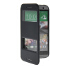 MOONCASE View Window Leather Side Flip Pouch Stand Shell Back ЧЕХОЛДЛЯ HTC One 2 (M8) Sapphire mooncase view window leather side flip pouch stand shell back чехолдля htc one 2 m8 sapphire