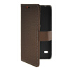 MOONCASE Slim Leather Side Flip Wallet Card Slot Pouch with Kickstand Shell Back чехол для Huawei Ascend Y550 Coffee mooncase slim leather side flip wallet card slot pouch with kickstand shell back чехол для huawei ascend y550 mint green