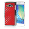 MOONCASE Hard Chrome Plated Star Bling Back ЧЕХОЛ ДЛЯ Samsung Galaxy A3 Red mooncase hard chrome plated star bling back чехол для samsung galaxy a7 blue