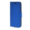 MOONCASE High quality Leather Side Flip Wallet Card Slot Pouch Stand Shell Back ЧЕХОЛ ДЛЯ Htc One M8 Blue wallet leather pouch for iphone 6s 6 samsung e5 htc m8 size 144 x 75mm blue bowknot