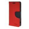 MOONCASE Splice Color Leather Wallet Flip Card Slot Bracket Back чехол для Sony Xperia Z4 Compact (Mini)  Red чехол для sony xperia z4 compact deppa air case red