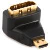 Shanze (SAMZHE) ZH-07 HDMI Женский мини включите MICRO HDMI передачи головки Micro HDMI мужчина к HDMI мужской женский адаптер небольшой очередь большой 3 в 1 порт дисплея dp мужчина к hdmi dvi vga женский адаптер для портативных пк белый