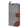 MOONCASE Galaxy S6 Edge , Leather Wallet Flip Card Holder Pouch Stand Back ЧЕХОЛ ДЛЯ Samsung Galaxy S6 Edge Grey