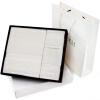Sanli Пьер причесаны хлопка равнине вышивка слово полотенце + ванна цветок Банное полотенце подарочные наборы из трех белых мешка подарка подарочные наборы