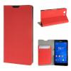 все цены на MOONCASE Sony Xperia Z3 Compact ( Z3 Mini ) ЧЕХОЛДЛЯ Flip Leather Wallet Card Holder Bracket Back Pouch Red онлайн
